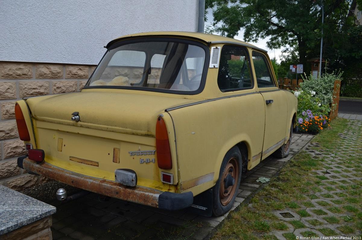 trabant 601 7 ran when parked. Black Bedroom Furniture Sets. Home Design Ideas