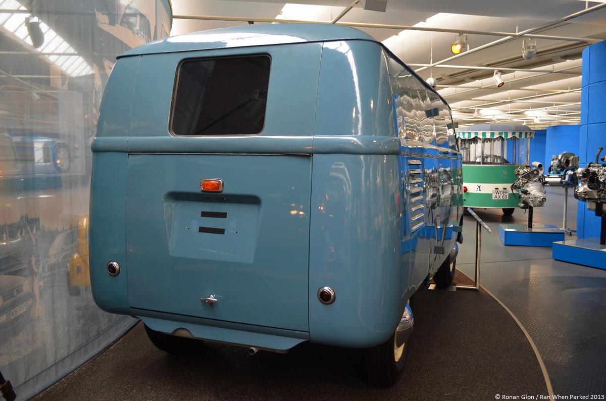 Volkswagen Museum Wolfsburg Bus Barndoor 1 Ran When Parked
