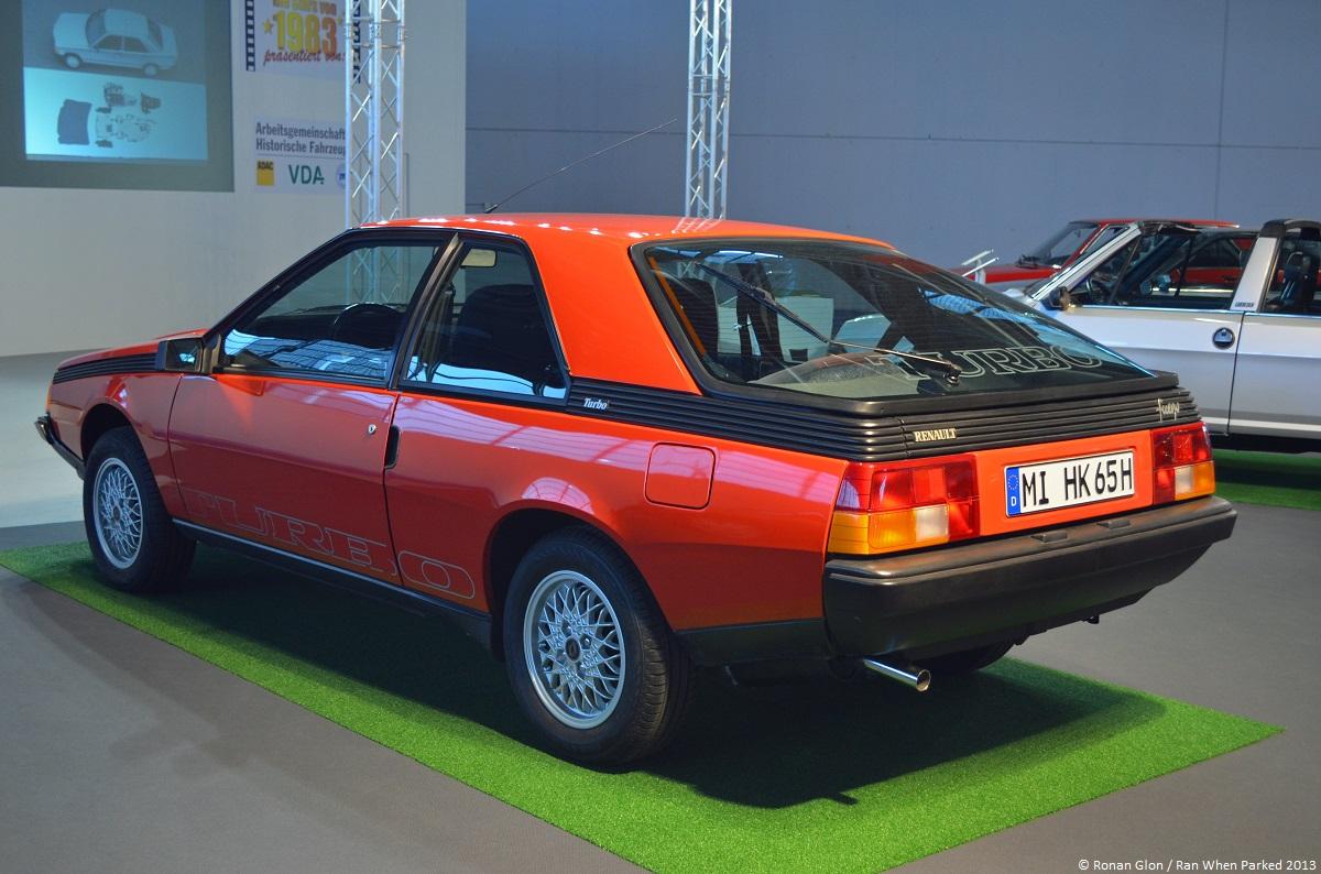 frankfurt motor show renault fuego turbo 2 ran when parked. Black Bedroom Furniture Sets. Home Design Ideas