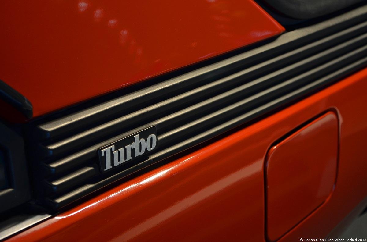 frankfurt motor show renault fuego turbo 5 ran when parked. Black Bedroom Furniture Sets. Home Design Ideas