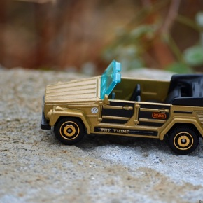 Scaled down: Matchbox's 1/59-scale Volkswagen 181 /Thing