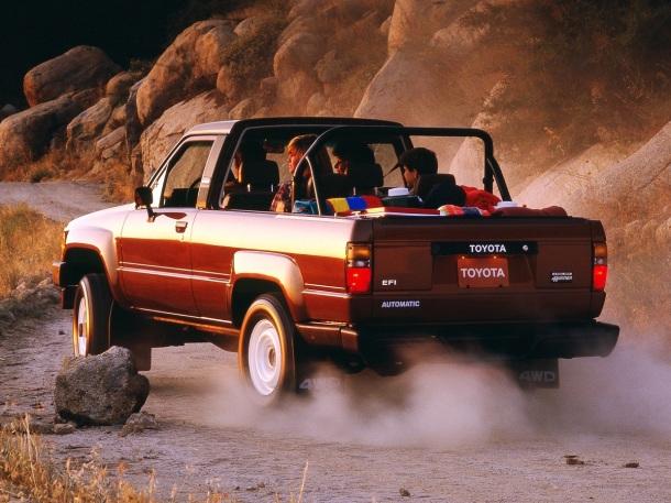 1986 Toyota 4x4 Trucks