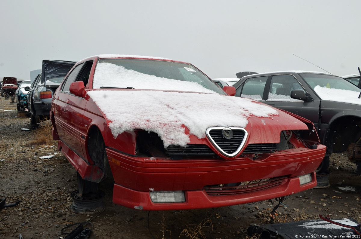 rust in peace alfa romeo 164 s ran when parked. Black Bedroom Furniture Sets. Home Design Ideas
