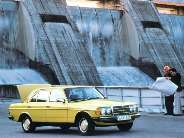 mercedes-benz-w123-gelb