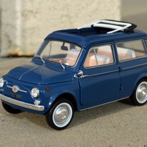 Scaled down: Norev's 1/18-scale Fiat 500 Giardiniera