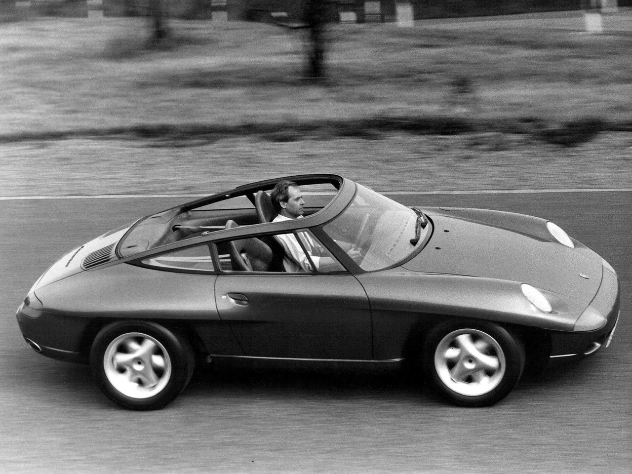 A Look At The 1989 Porsche Panamericana Concept Ran When