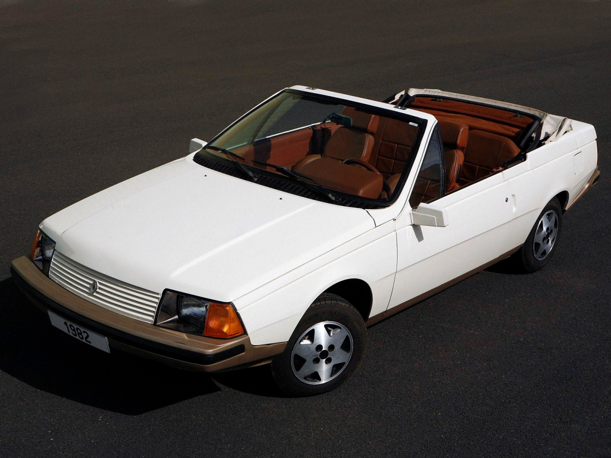 renault fuego turbo convertible 2 ran when parked. Black Bedroom Furniture Sets. Home Design Ideas