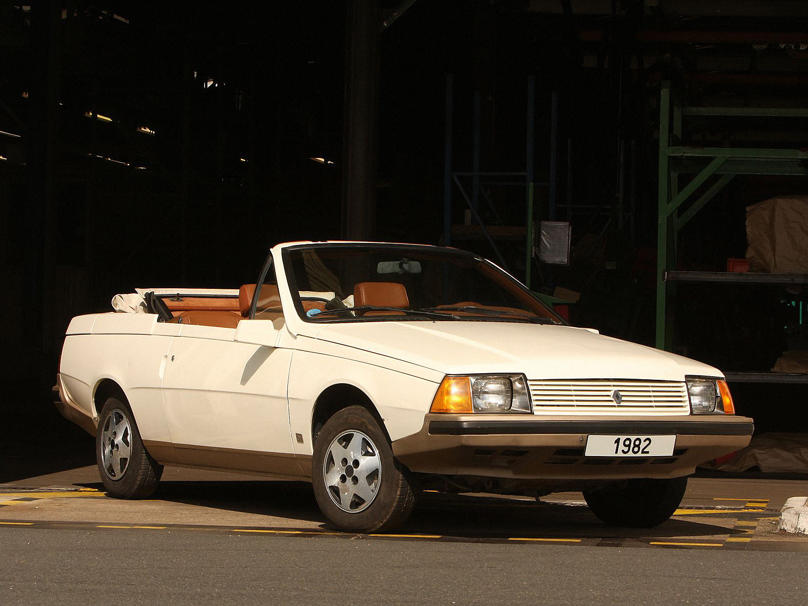 renault fuego turbo convertible 5 ran when parked. Black Bedroom Furniture Sets. Home Design Ideas