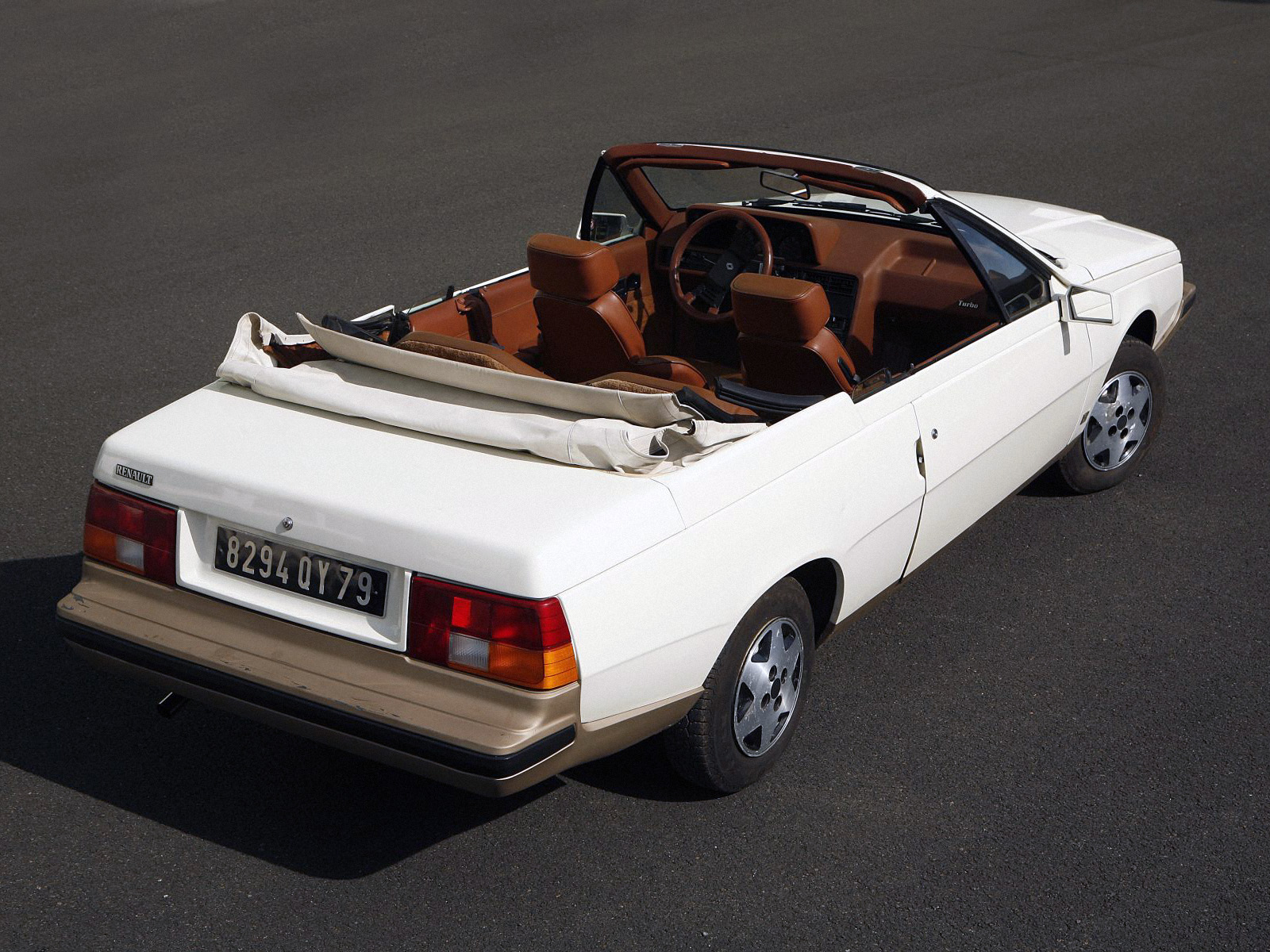 renault fuego turbo convertible 6 ran when parked. Black Bedroom Furniture Sets. Home Design Ideas