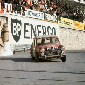 50 years ago: Mini takes home first Monte-Carlovictory