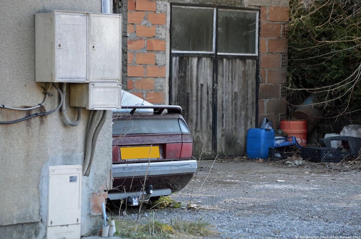 Citroen garage 7 ran when parked for Garage citroen sete