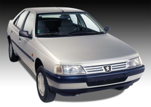 a look at the iranian-built peugeot 405 / pars | ran when parked