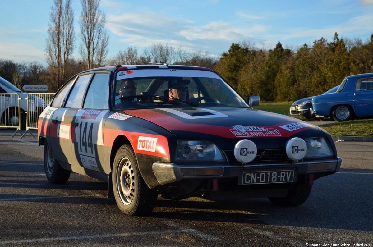 rallye monte carlo historique 2014 citroen cx 1 ran when parked