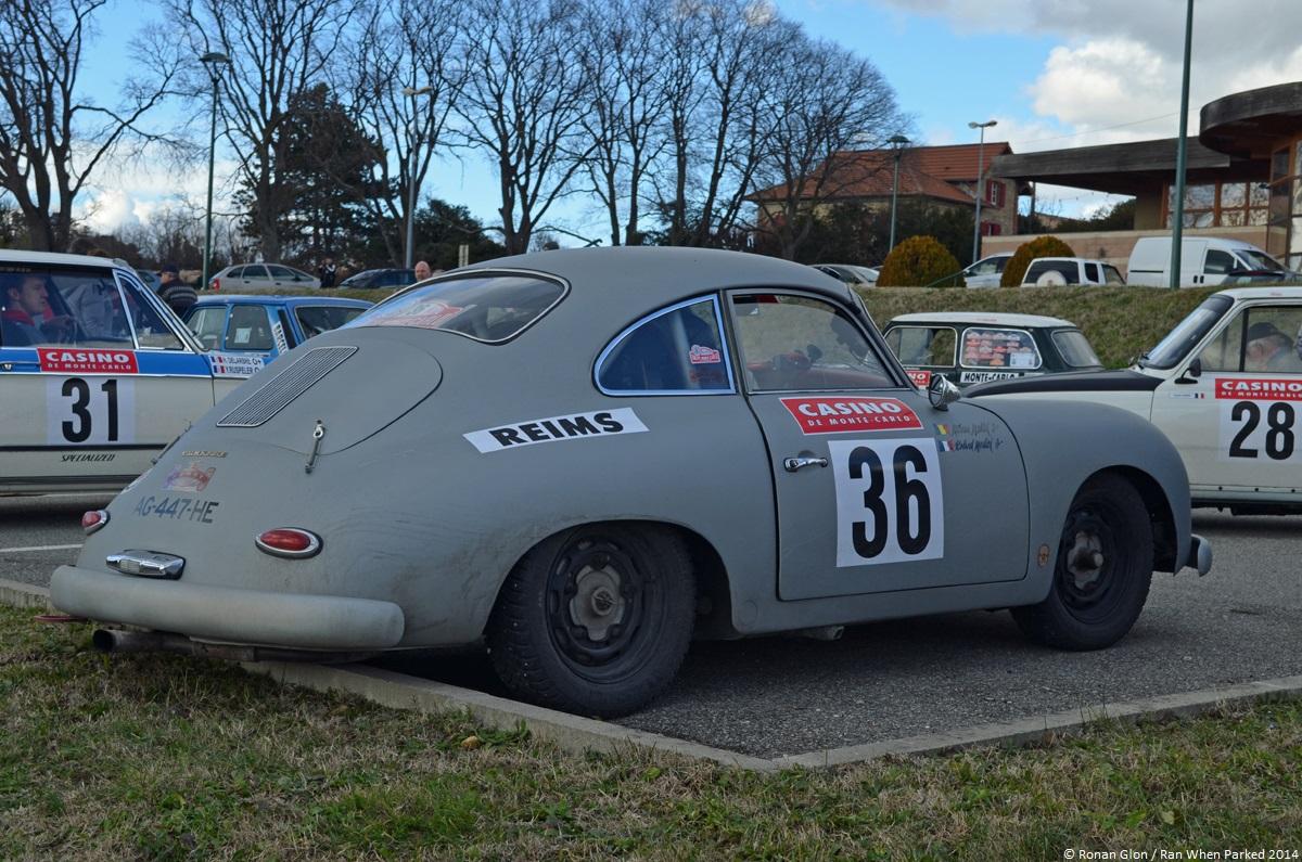 rallye monte carlo historique 2014 porsche 356 3 ran when parked