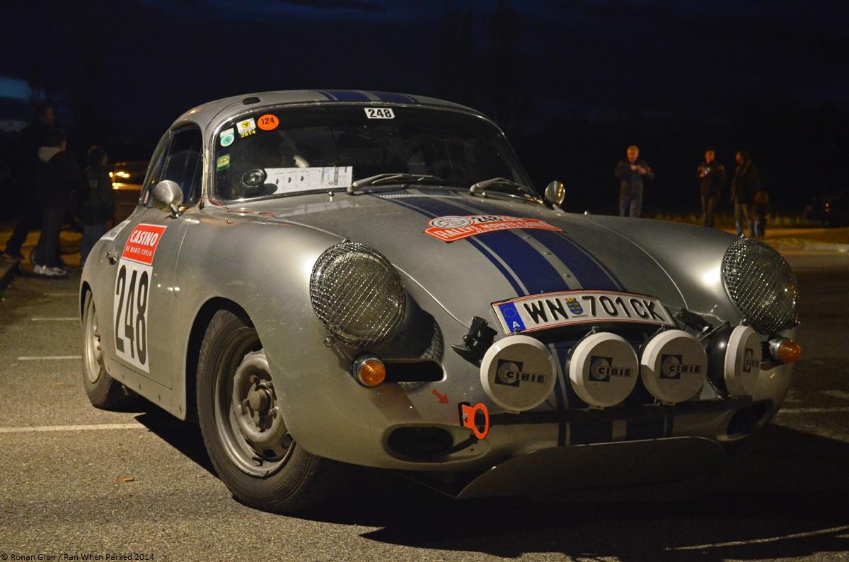 Rallye Monte Carlo Historique 2014 Porsche 356 4 Ran