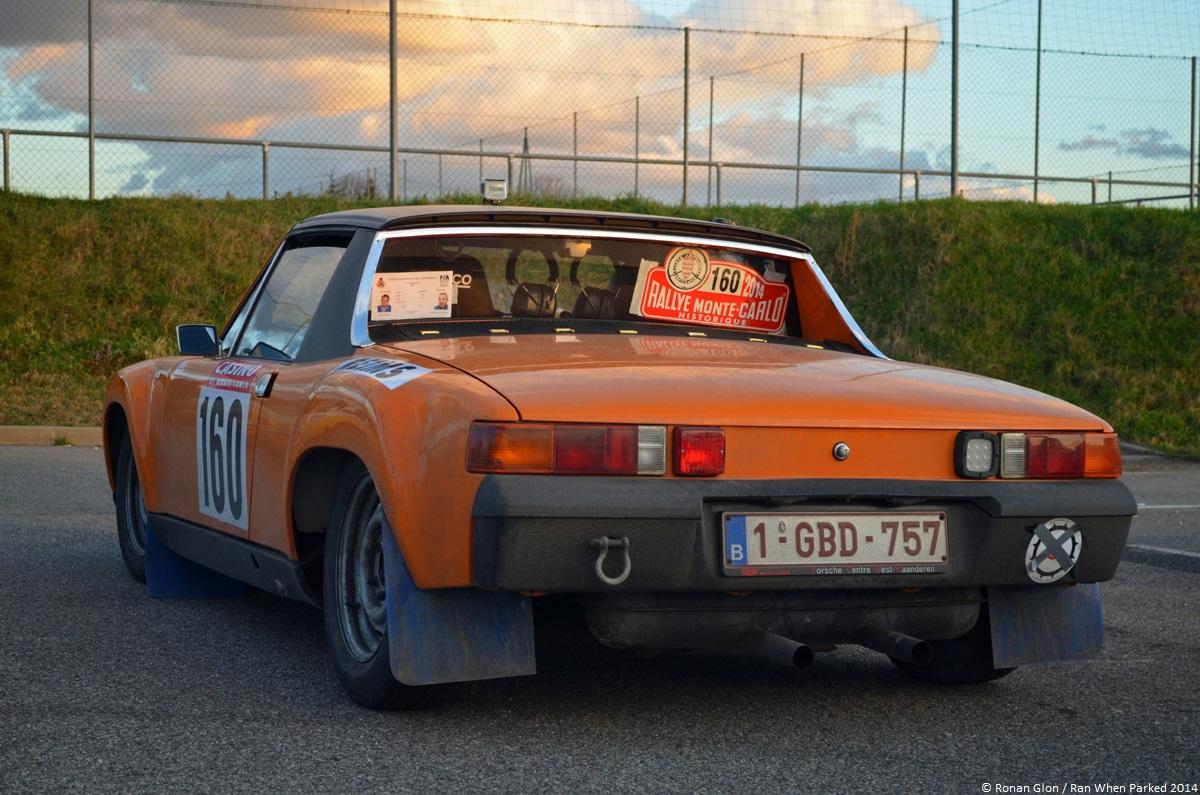 rallye monte carlo historique 2014 porsche 914 1 ran when parked