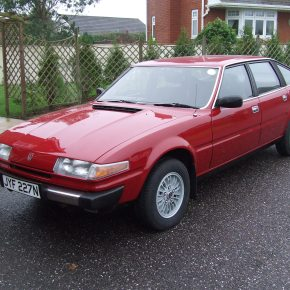Oldest-known Rover SD1 headed to auction