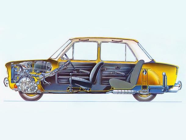 fiat-128-cutaway