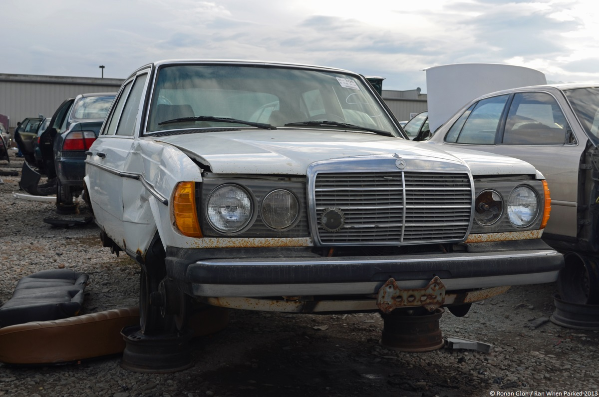 Rust in peace mercedes benz 240d w123 ran when parked for Mercedes benz 240 d