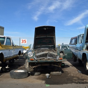 Rust in peace: MG BGT
