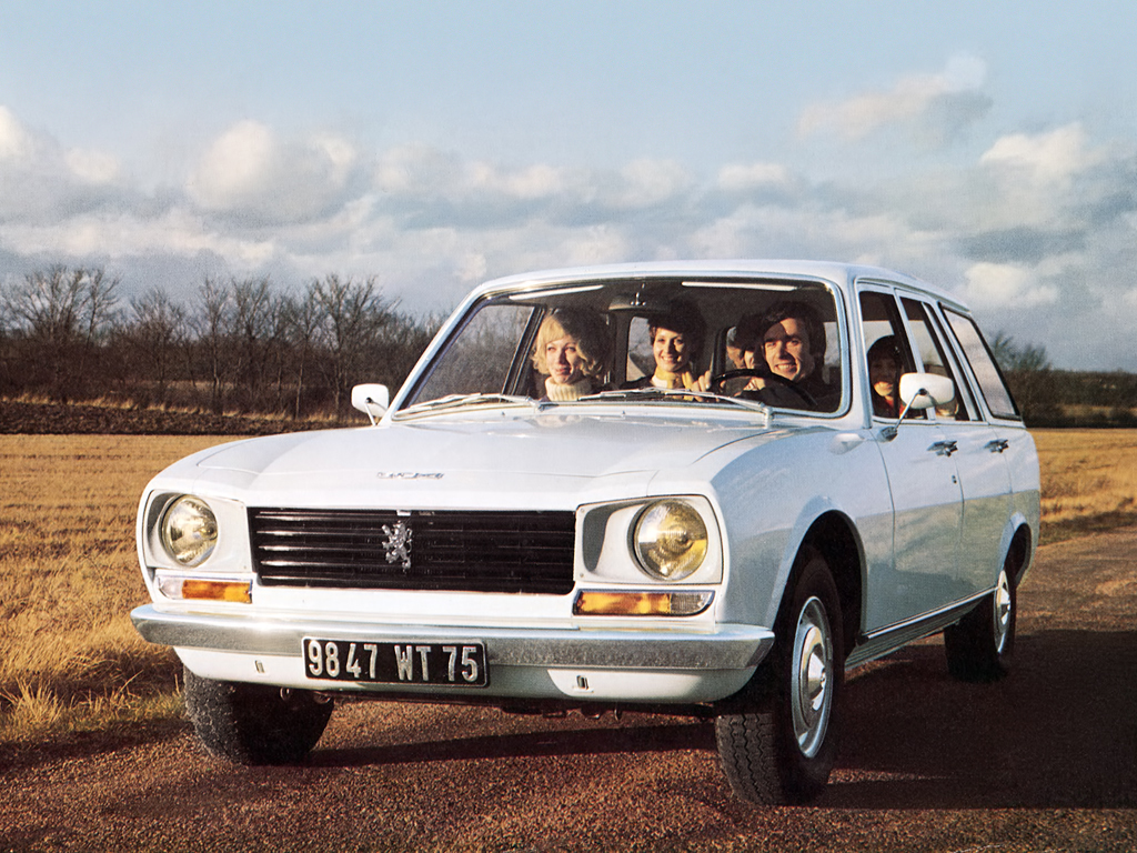 Peugeot 504 Break : topical advertising station wagons ran when parked ~ Medecine-chirurgie-esthetiques.com Avis de Voitures