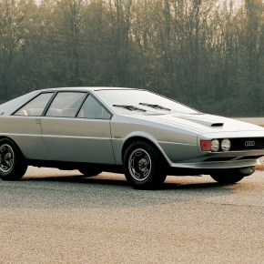 A look at the 1973 Audi-based Karmann Asso di Picche concept