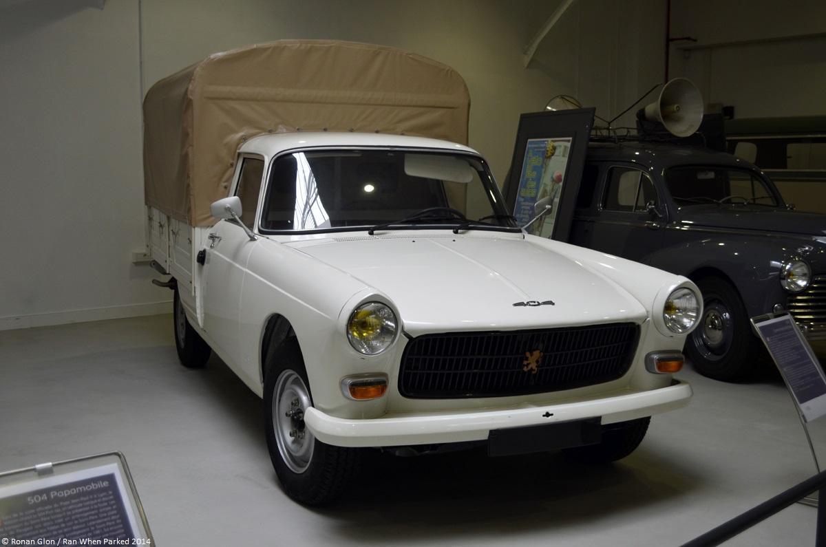 aventure-peugeot-museum-404-pickup   ran when parked