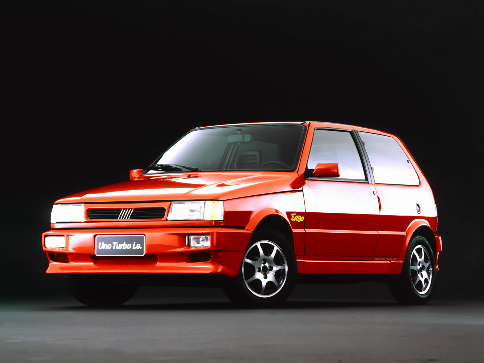 20 Years Ago Fiat Launches Brazilian Spec Uno Turbo I E