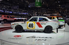 Live from the Geneva Motor Show: 1974 Mitsubishi Lancer 1600GSR