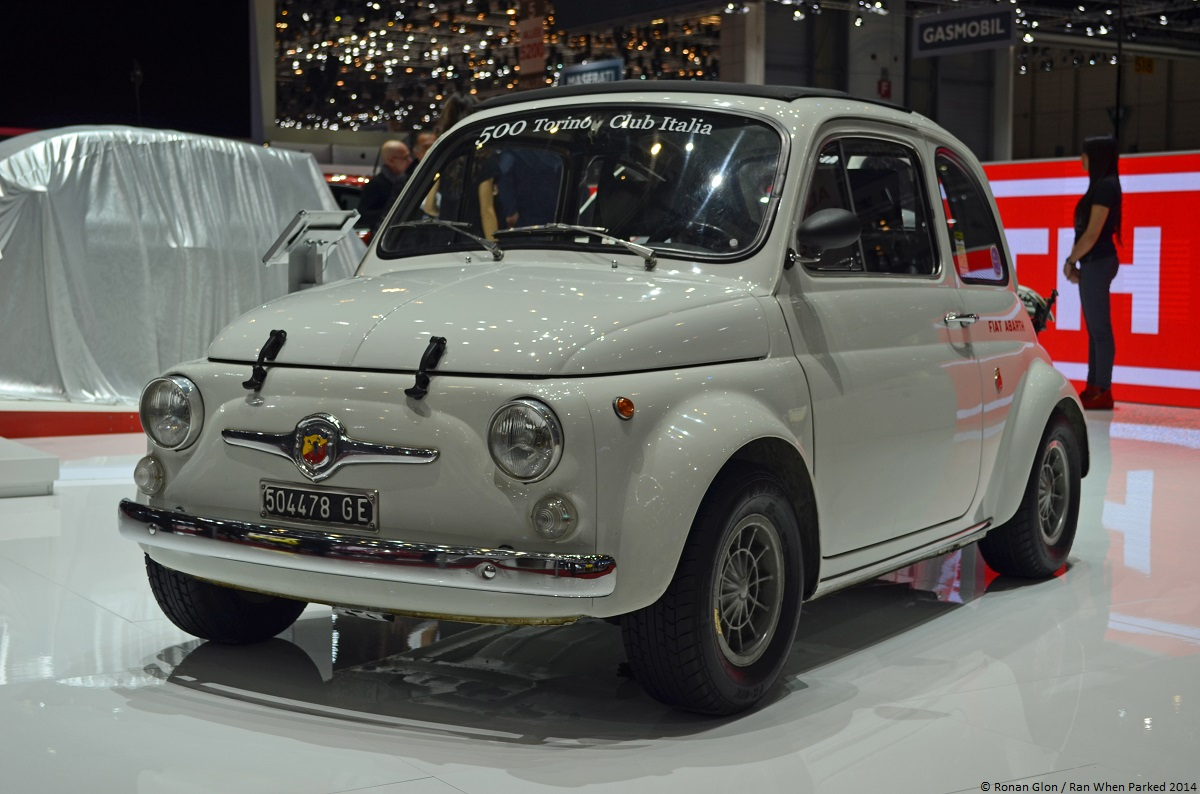 live from the geneva motor show 1964 fiat abarth 695 ss ran when parked. Black Bedroom Furniture Sets. Home Design Ideas