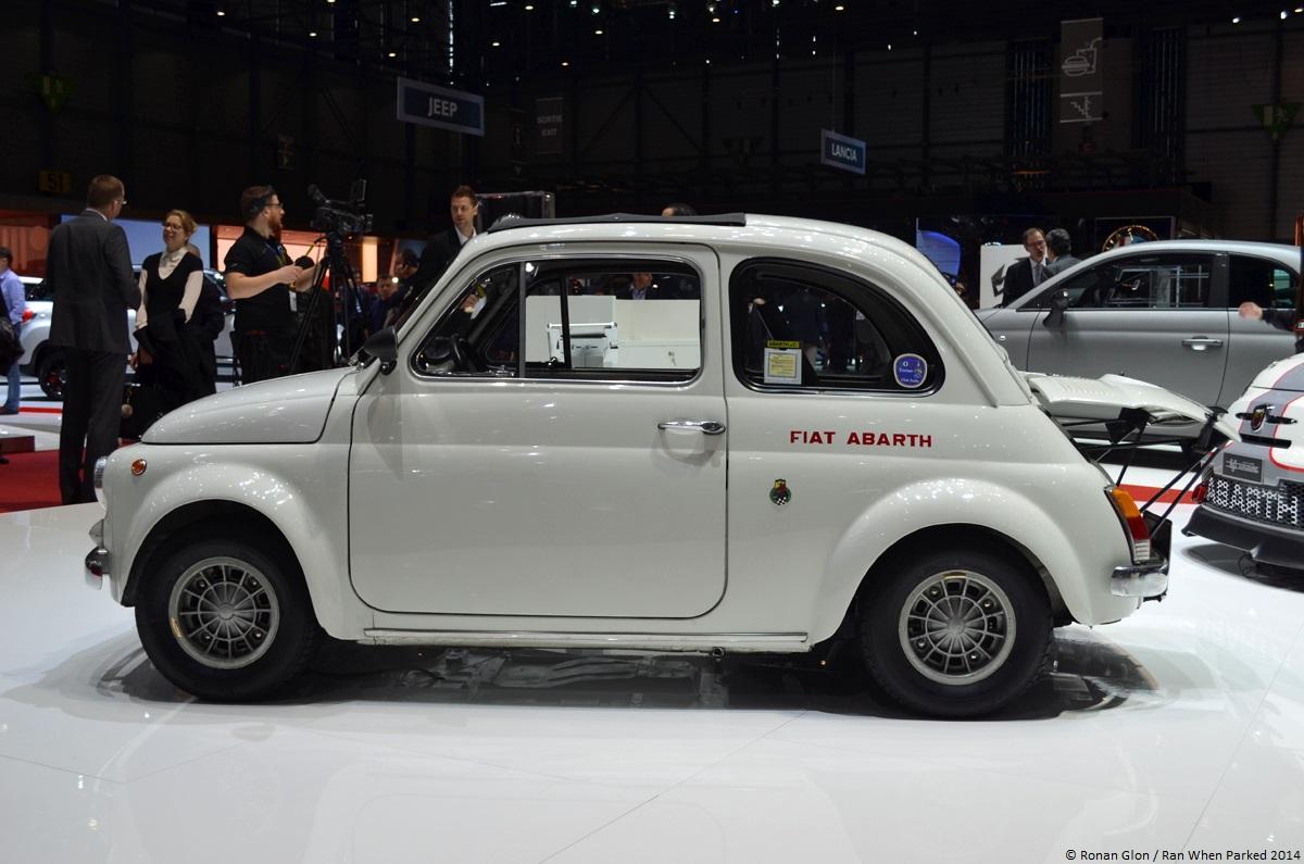 Geneva Fiat Abarth 695 Ss 6 Ran When Parked