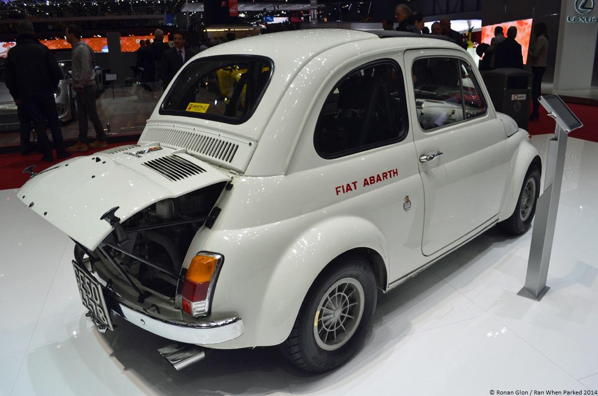 Geneva Fiat Abarth 695 Ss 7 Ran When Parked