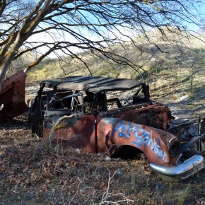 Rust in peace: Pontiac Chieftain station wagon