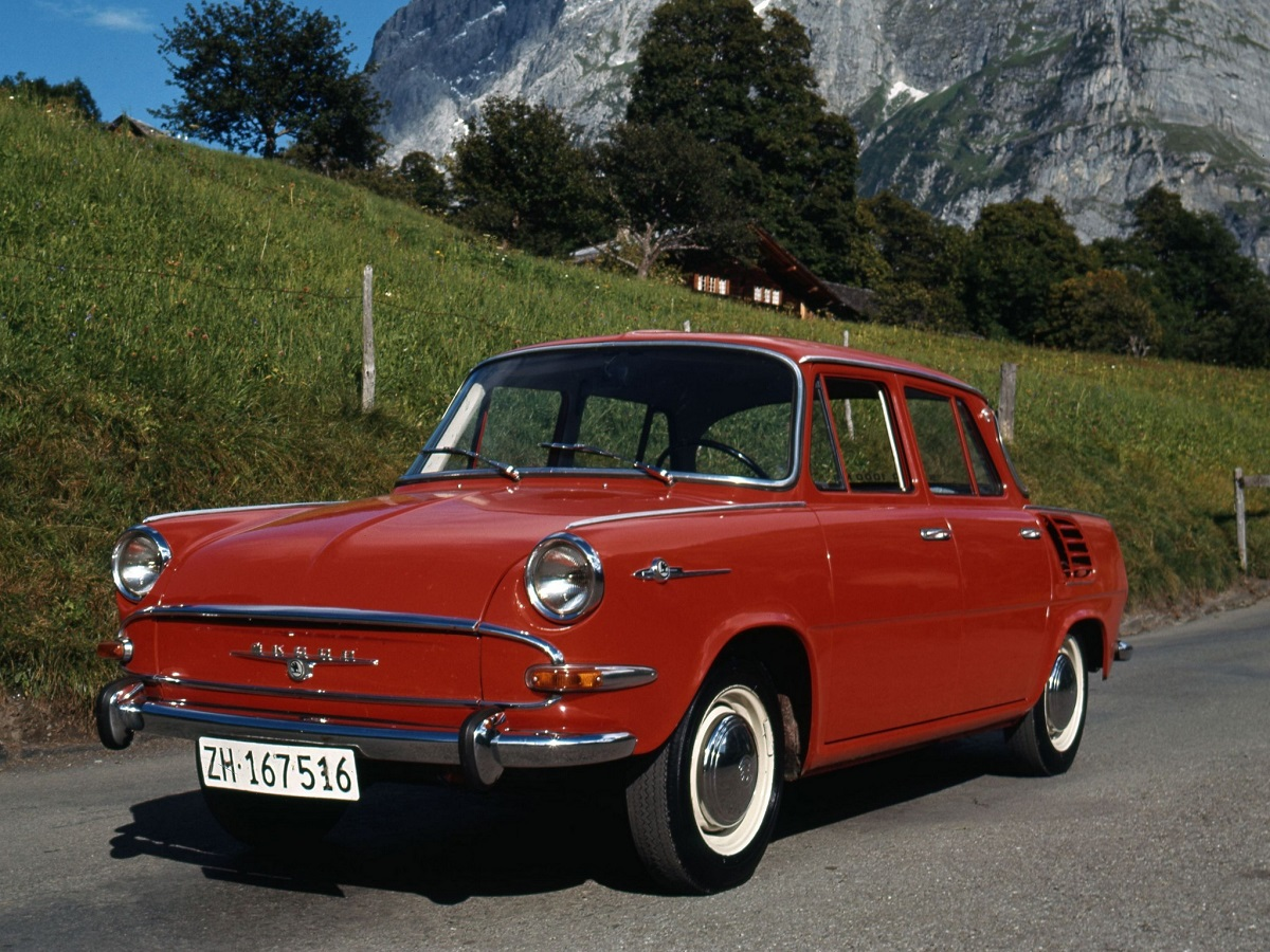 50 Years Ago Skoda Launches 1000 Mb Ran When Parked