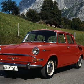 50 years ago: Skoda launches 1000 MB