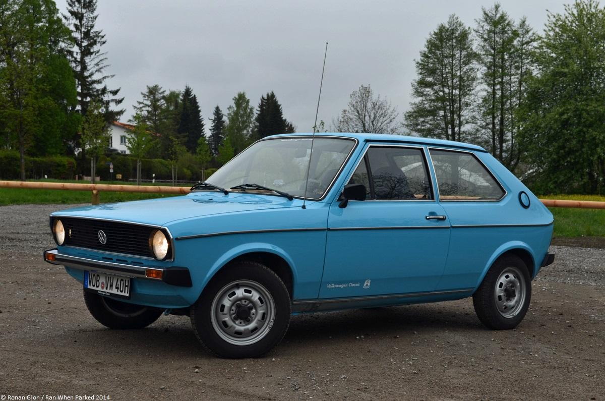 A Quick Drive In A 1977 Volkswagen Polo L Mk1 Ran When