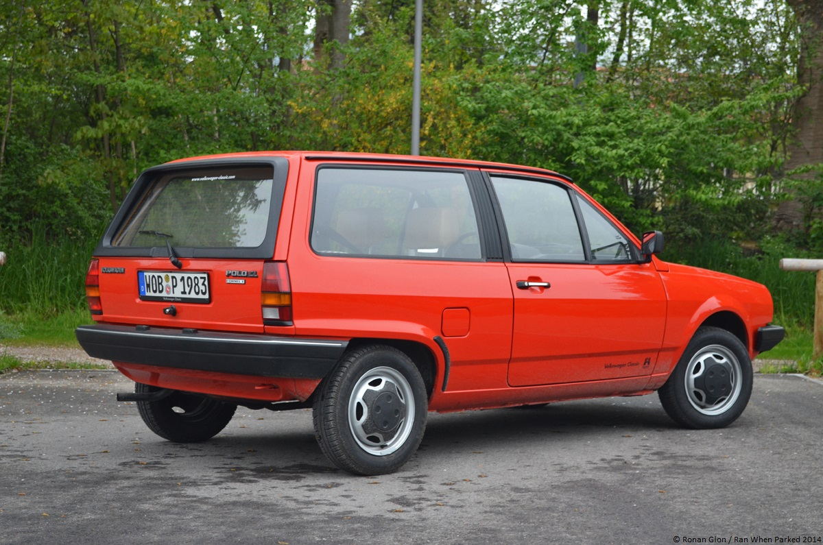 a quick drive in a 1983 volkswagen polo formel e mk2 ran when parked. Black Bedroom Furniture Sets. Home Design Ideas
