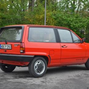 A quick drive in a 1983 Volkswagen Polo Formel E(mk2)