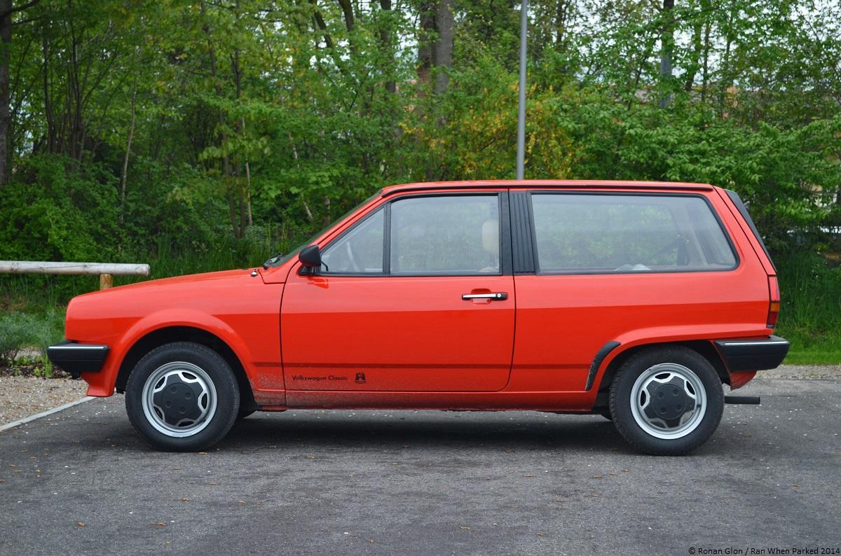 1983 Volkswagen Polo Mk2 27 Ran When Parked