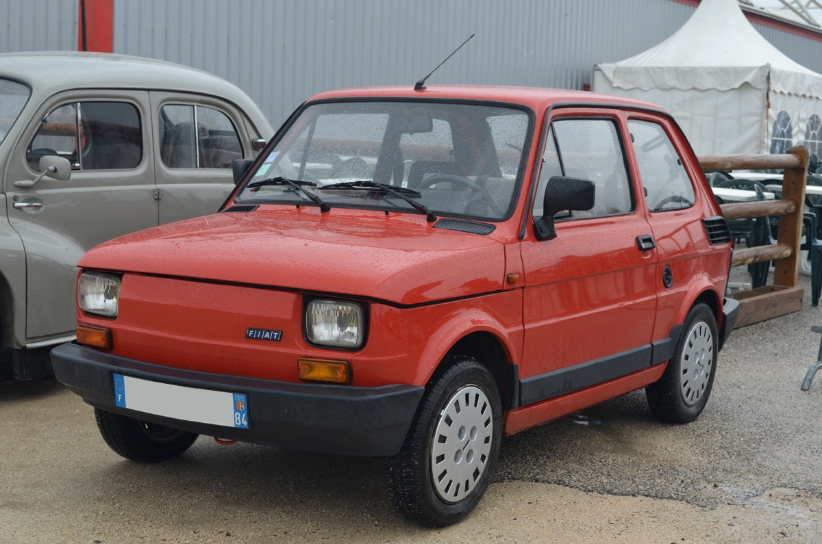 2014 avignon motor festival fiat 126 3 ran when parked. Black Bedroom Furniture Sets. Home Design Ideas