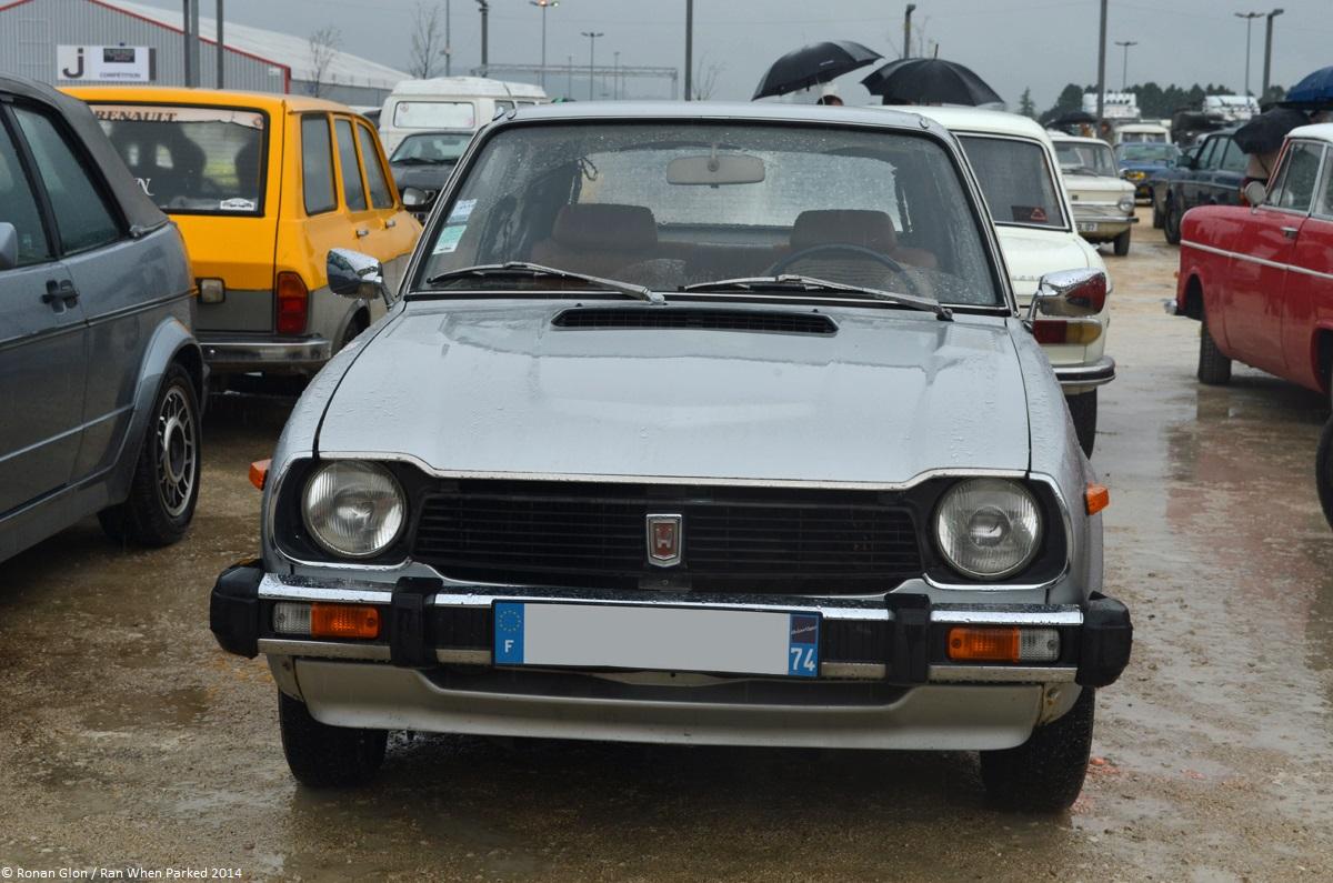 2014 Avignon Motor Festival Honda Civic Mk1 1 Ran When Parked