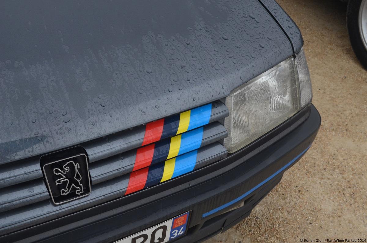 2014 avignon motor festival peugeot 309 gti 1 ran when for Garage peugeot avignon