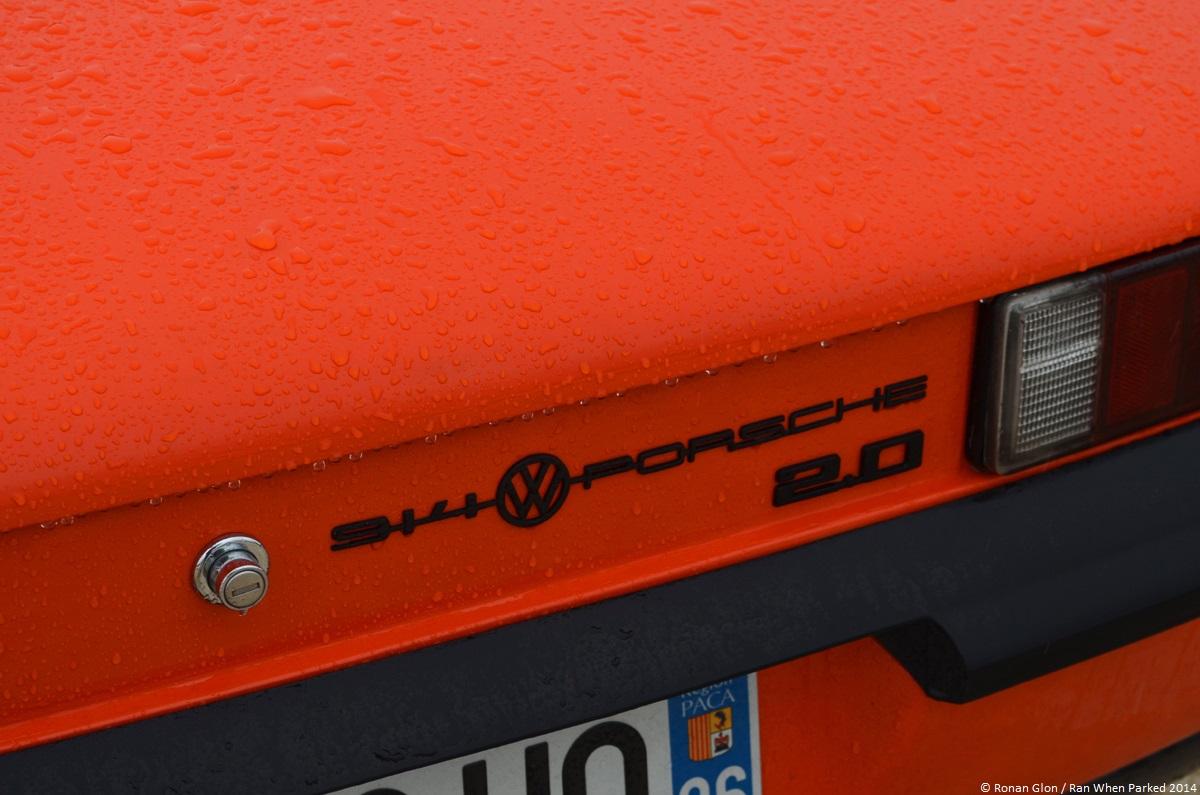 2014 avignon motor festival porsche 914 1 ran when parked. Black Bedroom Furniture Sets. Home Design Ideas