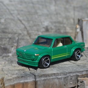 Scaled down: Hot Wheels' BMW 2002
