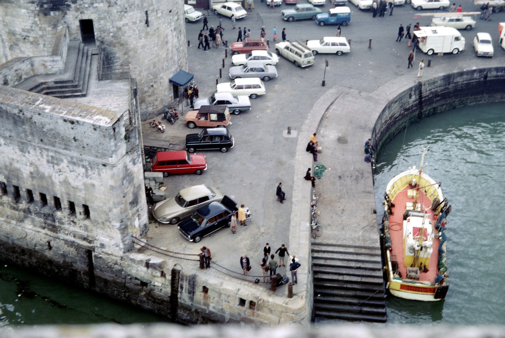 Rewind to la rochelle france in the early 1970s ran for Garage du port la rochelle