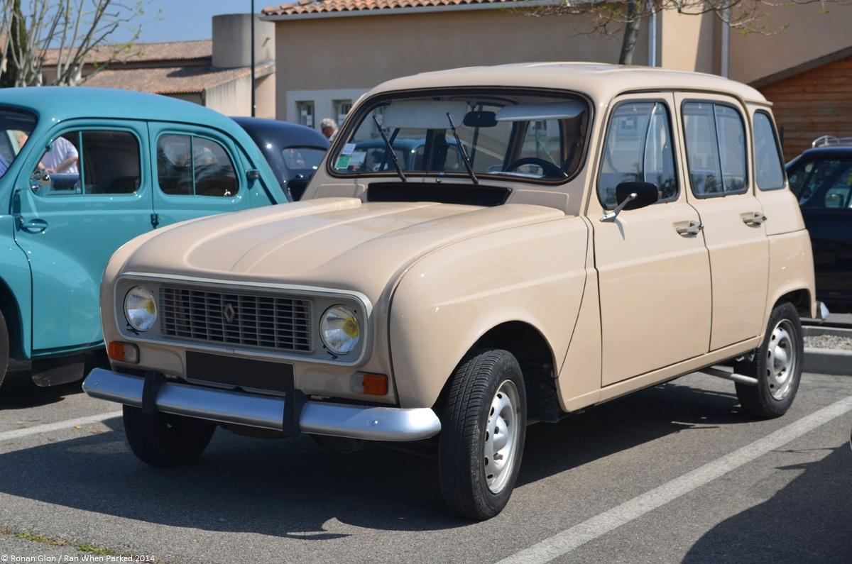 Mot auto velaux 2014 renault 4 4 ran when parked for Garage renault velaux