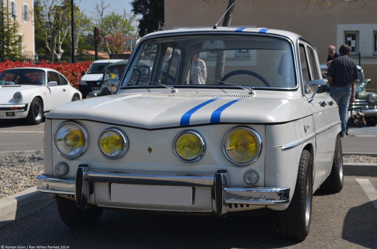 Mot auto velaux 2014 renault 8 gordini 3 ran when parked for Garage renault velaux