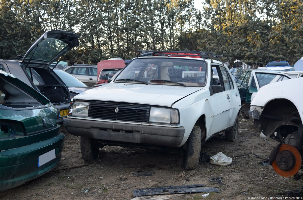 Rust In Peace Renault 14 Tl Ran When Parked 1107684