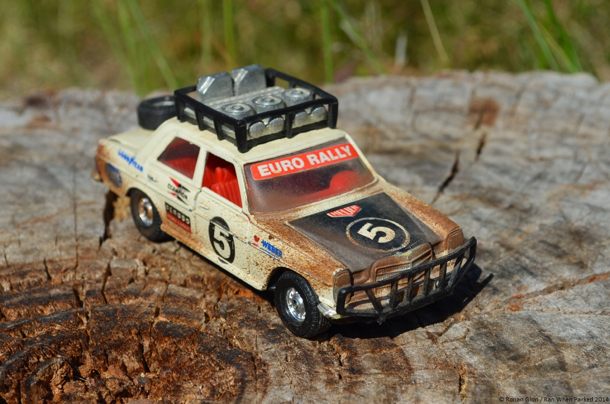 Scaled down: Corgi\'s 1/32-scale Mercedes-Benz 240D rally car | Ran ...