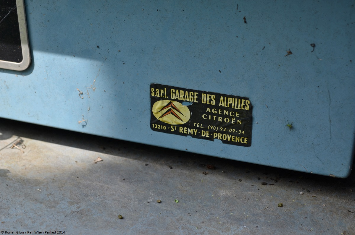 A Collection Of Vintage Dealer Stickers Ran When Parked